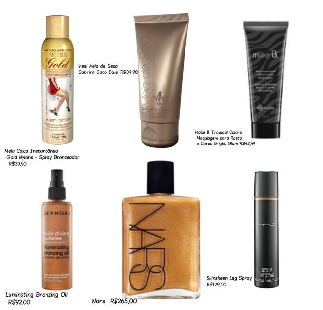 maquiagem para corpo