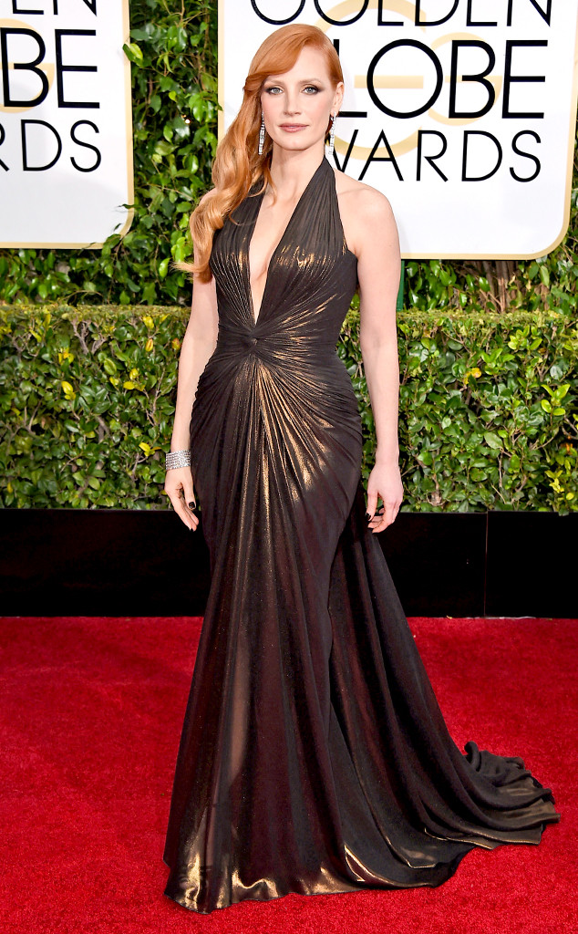 Jessica-Chastain-Golden-Globes-Red-Carpet-011115