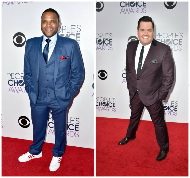 Anthony Anderson, Ross Mathews